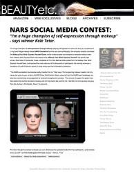 Press: our nars social media contest has a winner