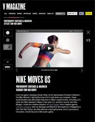 press: nike spsu features in v magazine