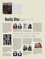 press: picture magazine feature on creative director ucef hanjani