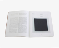 collateral: gallery brochure and artist booklet design