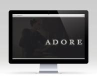 digital: adore website