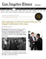 press: la times highlights pepsi's g-series pro event