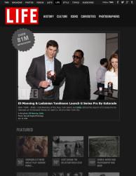 press: PEPSI g-series pro event featured in life magazine