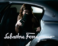 advertising: Salvatore ferragamo digital display and single page executions