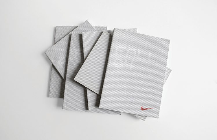 collateral: nike speed photo shoot and book design | ceft
