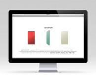 digital: spaceprojekt web design and interactive online lounge and private store