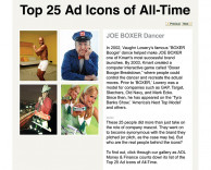 press: kmart joe boxer ad makes it to the top 25 ad icons of all time
