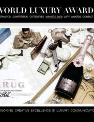 news: krug campaign wins a world luxury award