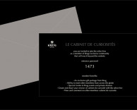 "digital: krug champagne community website, an exclusive members-only website for ""cabinet de curiosites"" campaign"