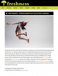 press: nike spsu featured in freshness mag