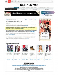 press: whbm a musical odyssey tv commercial featured on blog refinery29