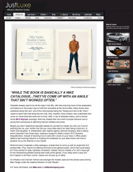 press: nike london 2012 olympics etiquette book featured on just luxe