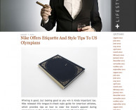press: nike london 2012 olympics etiquette book featured on limite magazine