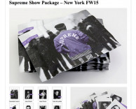 Press: models.com showcases supreme models NYFW15 kit design by ceft and company