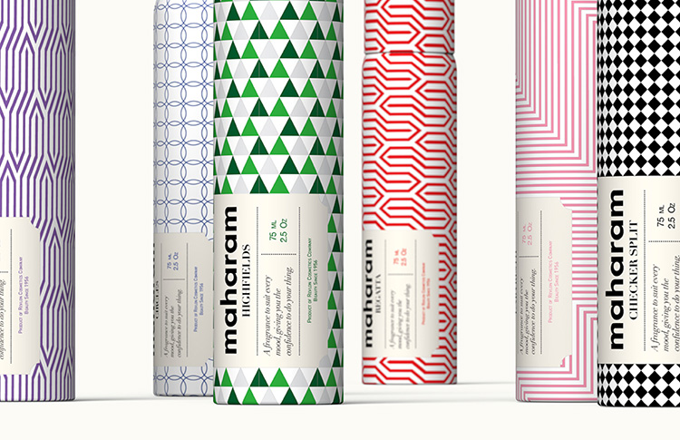 Product Package Design Maharam Aromatic Interior Sprays Ceft And Company New York