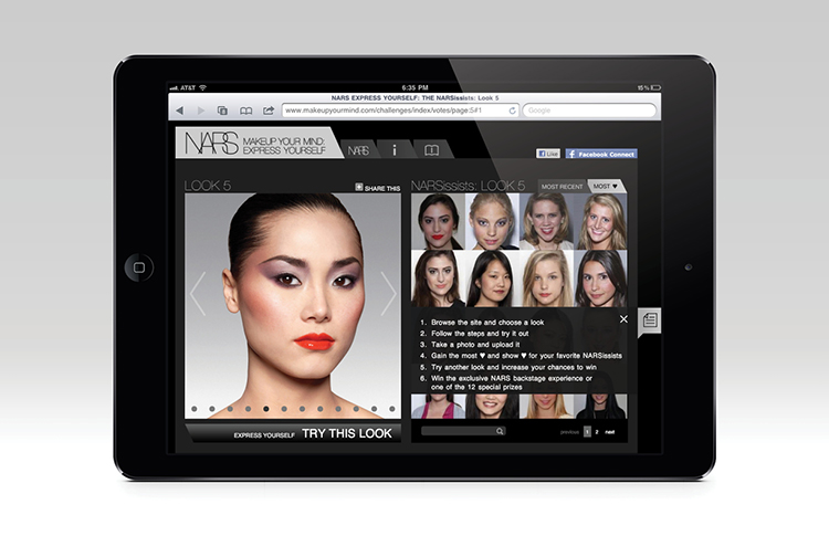 ceft-and-company-ny-digital-agency-nars-cosmetics-advertising-social-media-iPad-app
