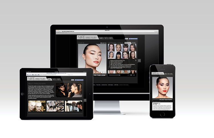 nars digital agency new york app website iphone desktop ipad