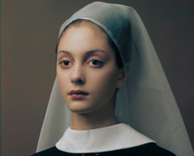 anti-portraits editorial based on flemish master paintings