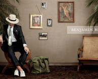 advertising: benjamin bixby mens fashion print campaign