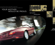 advertising: jaguar xk8 campaign