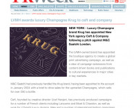 press: pr week united kingdom on krug champagne