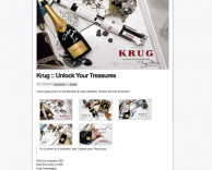 press: krug – unlock your treasures featured on adbrand