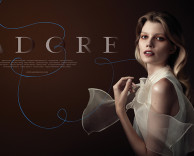Advertising: adore fall / winter featuring model saara sihvonen
