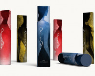 product/package design: oscar de la renta body fragrance design proposal