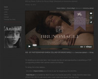 press: bruno magli's premier fashion film 603 featured in the quiet front