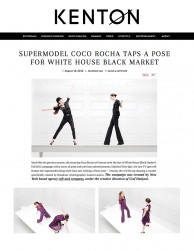 press: WHBM alter ego TV commercial featured in kenton magazine