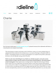press: charlie packaging featured in the dieline