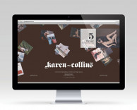 digital: Karen Collins website development