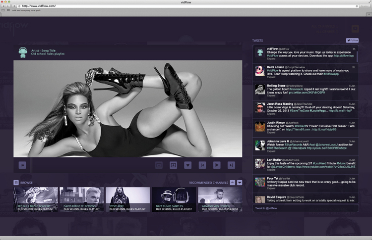 vidFlow-music-app-desktop-ceft-and-company-new-york-digital-agency
