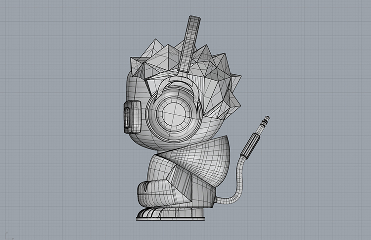 vidflow character development 3d view 3