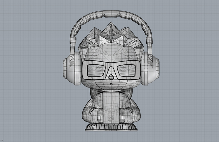 vidflow character development 3d view 6