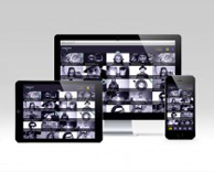 Digital: vidflow music video app design, UI and UX development
