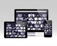 Digital: vidflow music video app design, UI and UX development