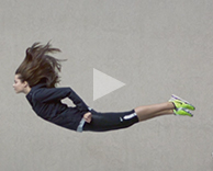film: nike be free campaign and imagery created by ceft and company