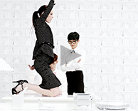 Advertising: whbm the heart of workwear tv commercial by ellen von unwerth featuring coco rocha