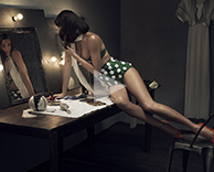 "Film: ""the double"" featuring helena christensen for VS magazine"