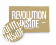 collateral: nike revolution inside lookbook and press kit