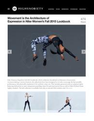press: highsnobiety on nike architecture of the body