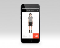 mobile app: modular e-commerce mobile app for white house black market