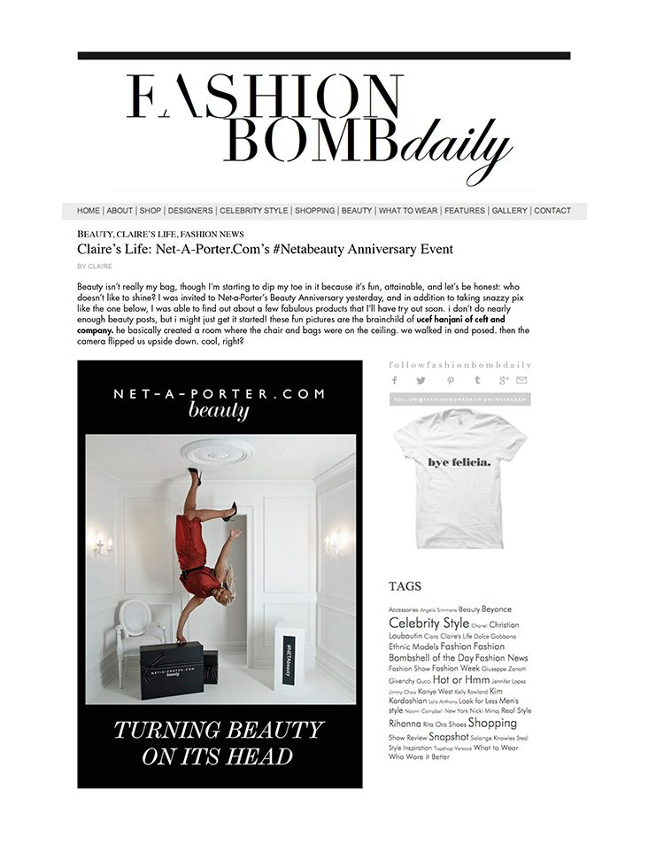 ceft-and-company-ny-agency-net-a-porter-netabeauty-event-fashion-bomb-ucef-hanjani-upside-down-room