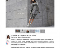 press: nike be free featured on trend hunter