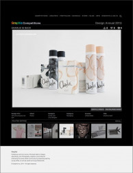 press: charlie packaging selected in graphis design annual