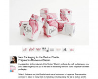 press: new packaging for the revlon charlie fragrances revives a classic featured in trendhunter