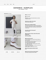 press: ucef hanjani featured on generic surplus style profile