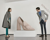 """Advertising: donald pliner """"the art of fun"""" f/w campaign"""