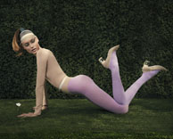 "ADVERTISING: DONALD PLINER ""THE ART OF FUN"" S/S CAMPAIGN – GARDENS"